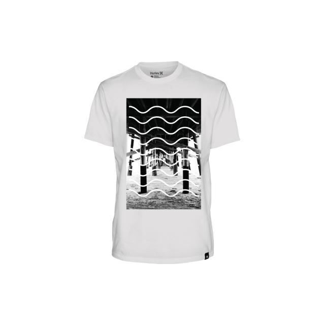 Hurley - Hurley Mens Pier Waves Tee