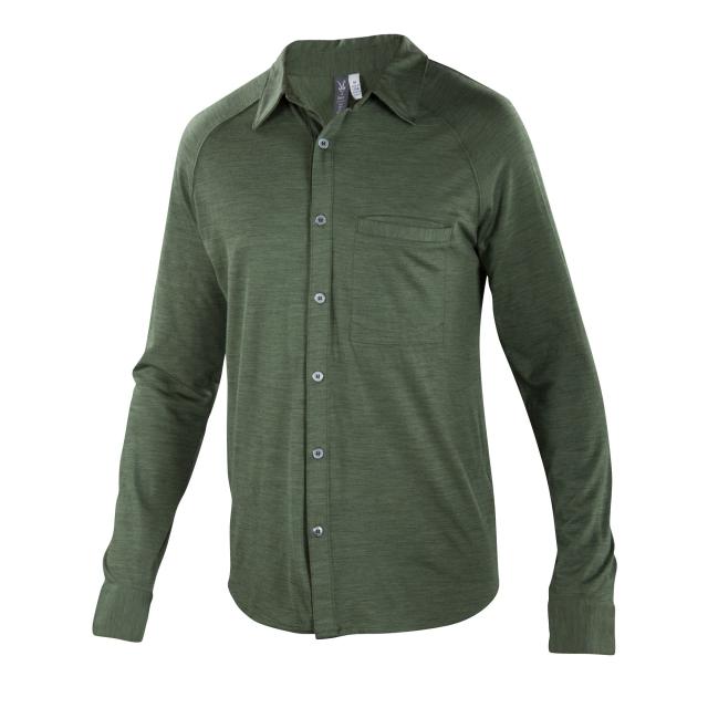 Ibex - OD Heather Long Sleeve Shirt