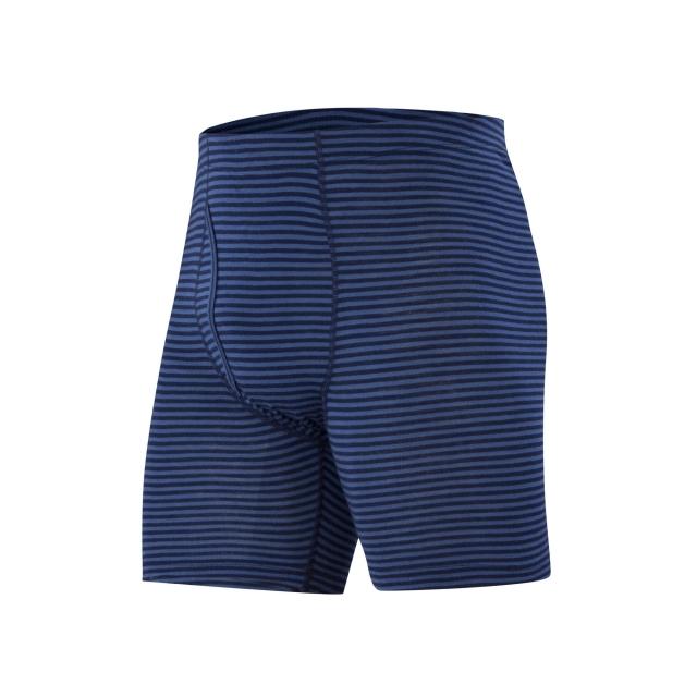 Ibex - Men's Woolies 1 Boxer Brief Stripe