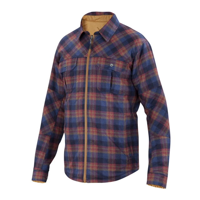 Ibex - Men's Wool Aire Reversible Camp Shirt-Jac
