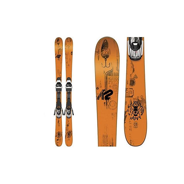 K2 - Juvy Kids Skis with Marker Fastrak2 4.5 Bindings 2017