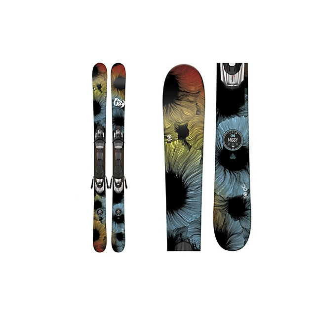 K2 - Missy Kids Skis with Marker Fastrack2 7.0 Bindings 2017