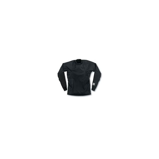 Kokatat - Surfskin Long Sleeve Shirt - Black In Size: Small