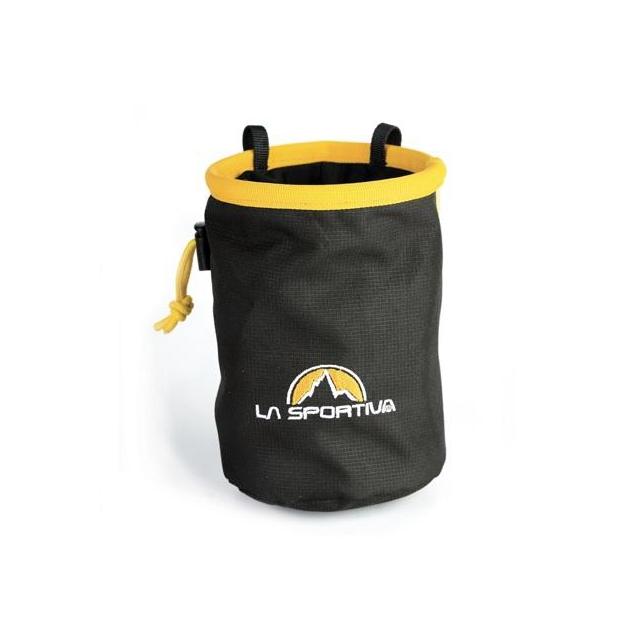 La Sportiva - Chalk Bag Black/Yellow