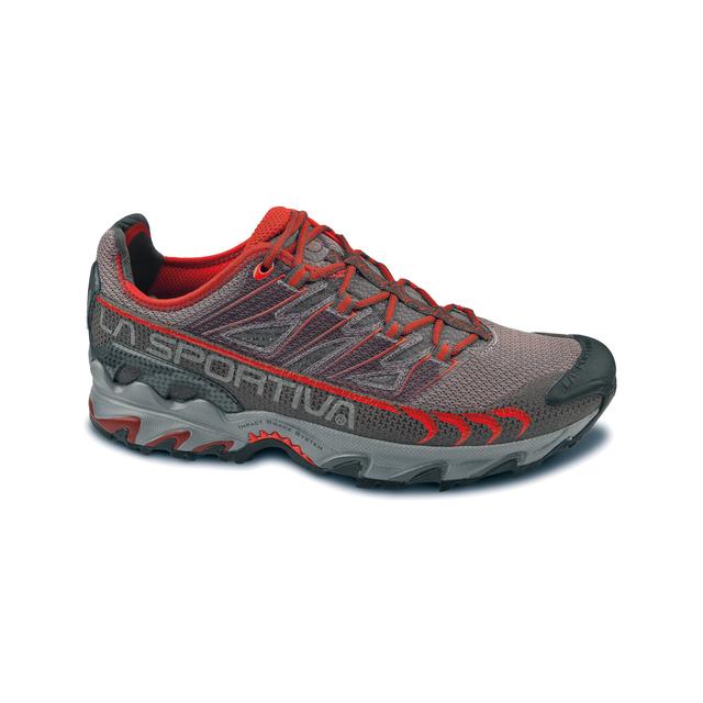 La Sportiva - Men's Ultra Raptor, Grey/Red, 38.5