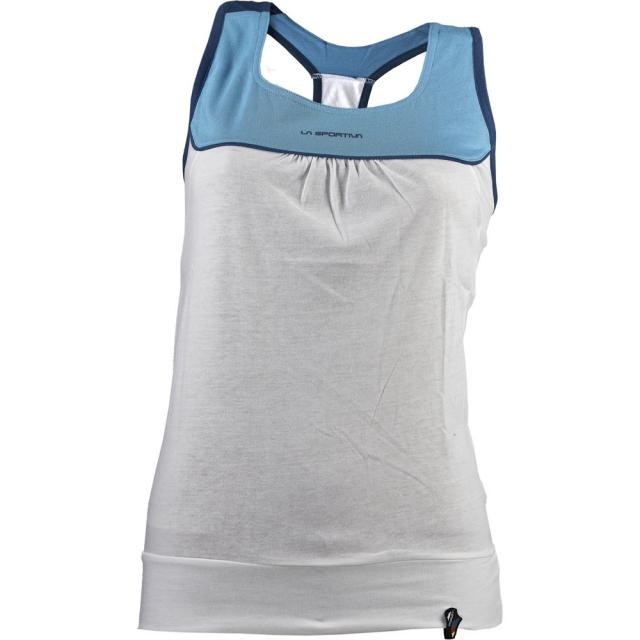 La Sportiva - Momentum Tank Top Womens - Malibu Blue / White M