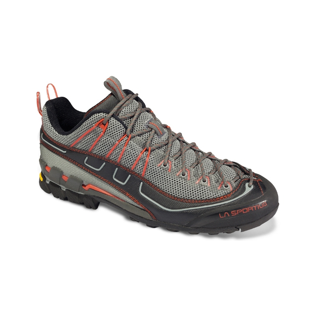 La Sportiva - Xplorer Hiking Shoes - Men's: Grey/Red, 11.5 US / 45.5 EUR