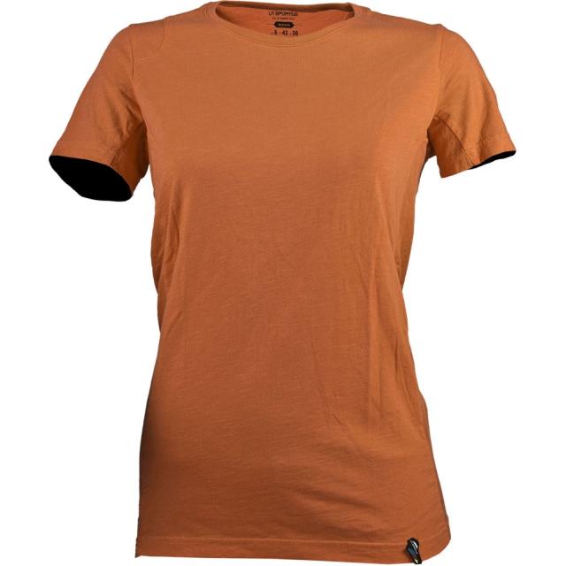 La Sportiva - Vintage Logo T-Shirt Womens - Coral XS