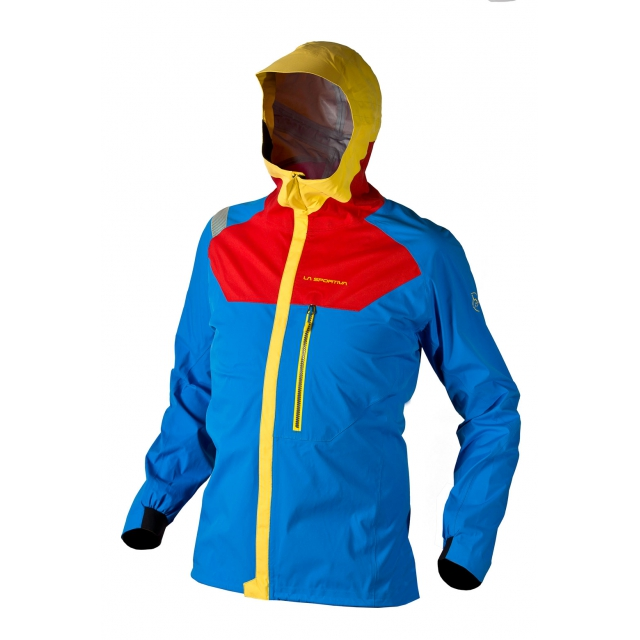 La Sportiva - - Storm Fighter Jacket M - Small - Red Blue