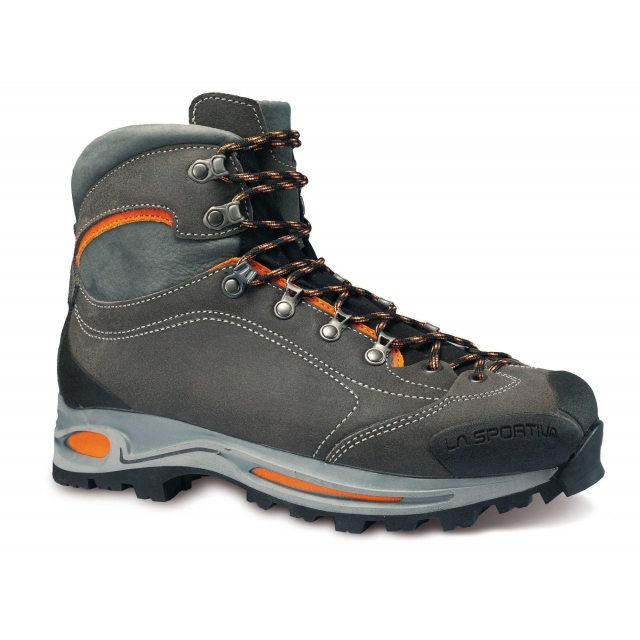 La Sportiva - Omega GTX Hiking Boot - Men's Grey/Rust 38.5