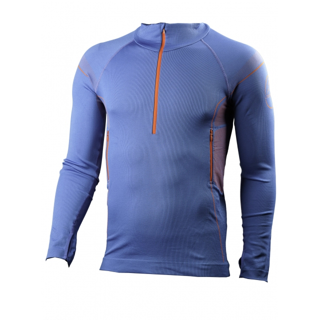 La Sportiva - Thermosphere 1/4 Zip - Men's Blue Medium