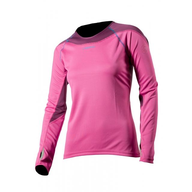 La Sportiva - Horizon Long Sleeve Shirt - Women's Pink Large