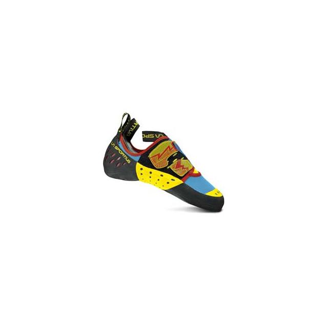 La Sportiva - Oxygym Climbing Shoe - Men's - Blue/Red In Size: 34.5