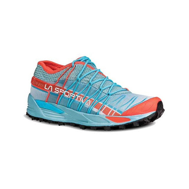 La Sportiva - Mutant Trail Running Shoes - Women's: Ice Blue/Coral, 38