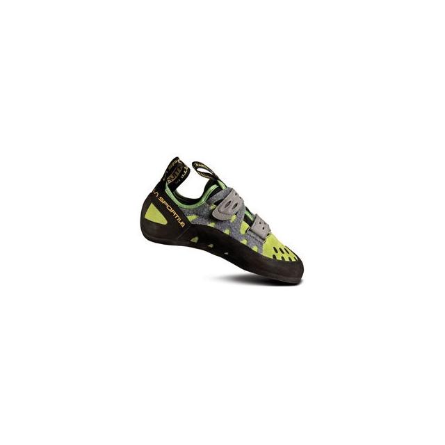 La Sportiva - Tarantula Climbing Shoe - Green In Size: 34.5