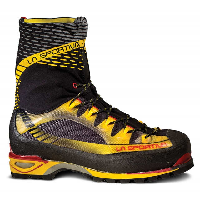 La Sportiva - - Trango Ice Cube GTX - 46 - Black/Yellow