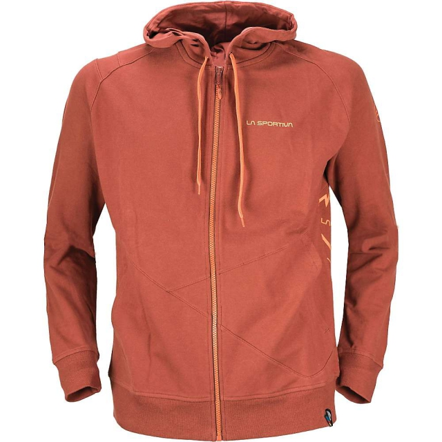 La Sportiva - - Rocklands Hoody M - SMALL - Taupe Brown