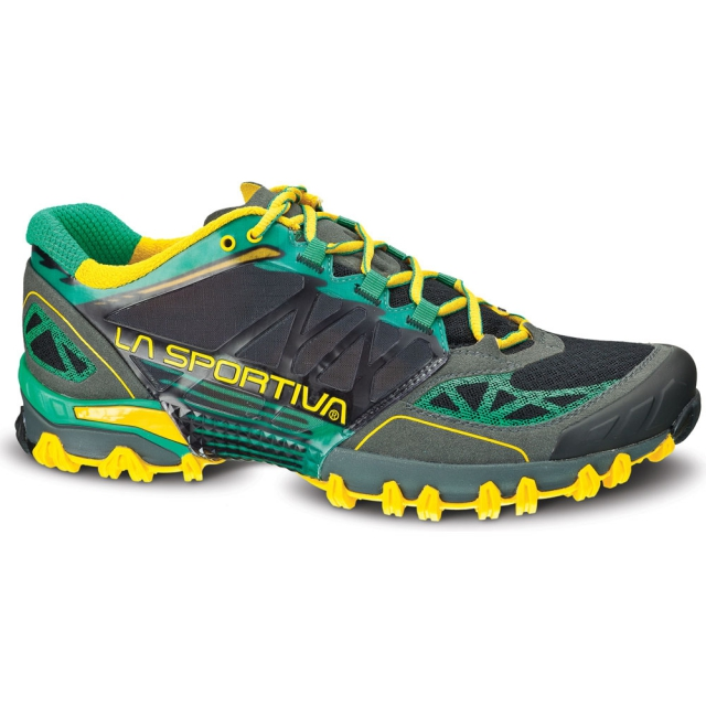 La Sportiva - Bushido Shoe Mens - Grey / Green 45.5