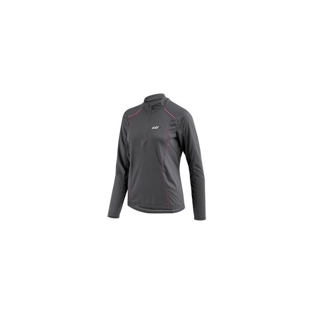 Louis Garneau - Edge CT Long Sleeve Cycling Jersey - Women's - Iron Grey In Size