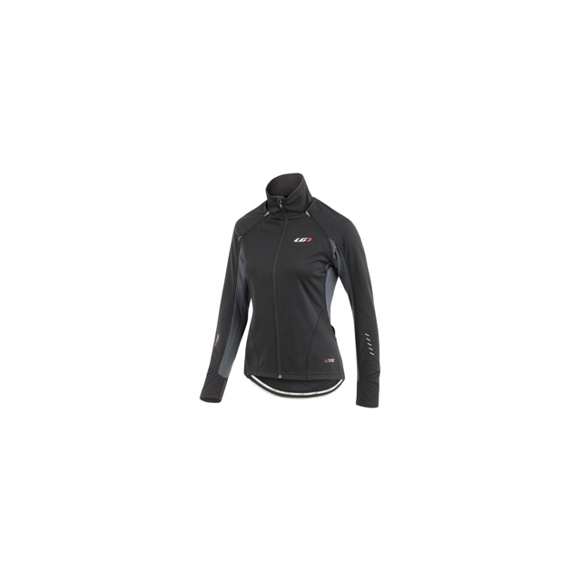 Louis Garneau - Spire Convertible Cycling Jacket - Women's - Black/Grey In Size
