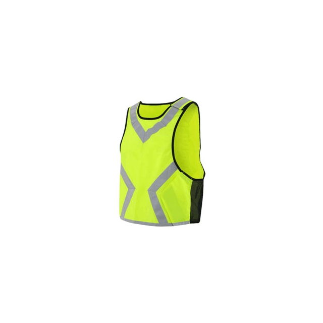 Louis Garneau - Hi-Viz Vest - Bright Yellow In Size