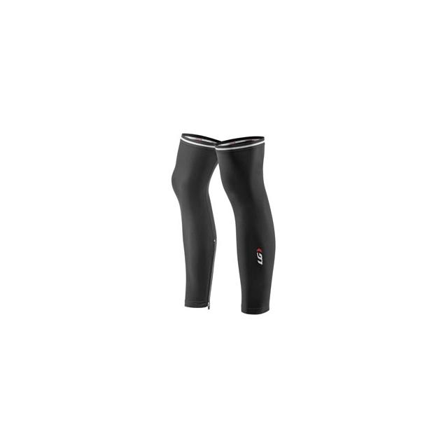 Louis Garneau - Zip-Leg Warmers 2 - Unisex - Black In Size: Extra Large