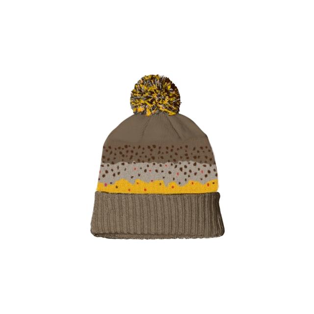 Repyourwater - Brown Trout Skin Knit Hat