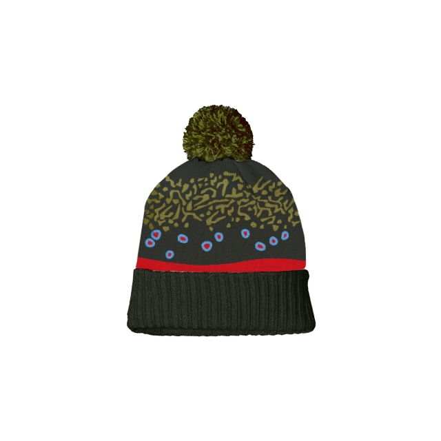 Repyourwater - Brook Trout Skin Knit Hat