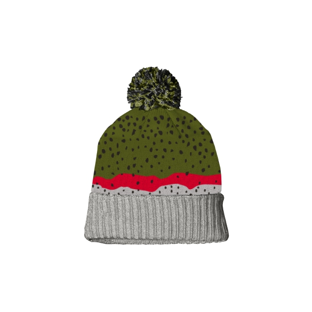 Repyourwater - Rainbow Trout Skin Knit Hat