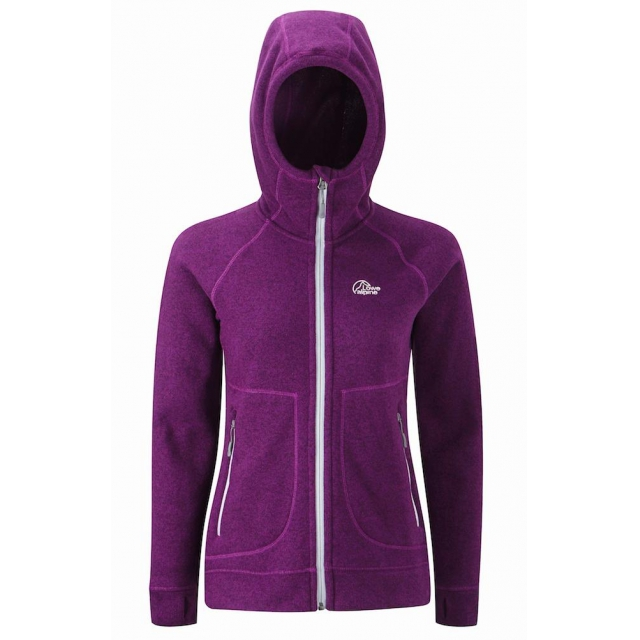 Lowe Alpine - Womens Gemini Hoody SM::Grape Juice