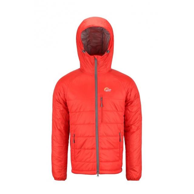 Lowe Alpine - Camp V Belay Jacket MD::Fiesta