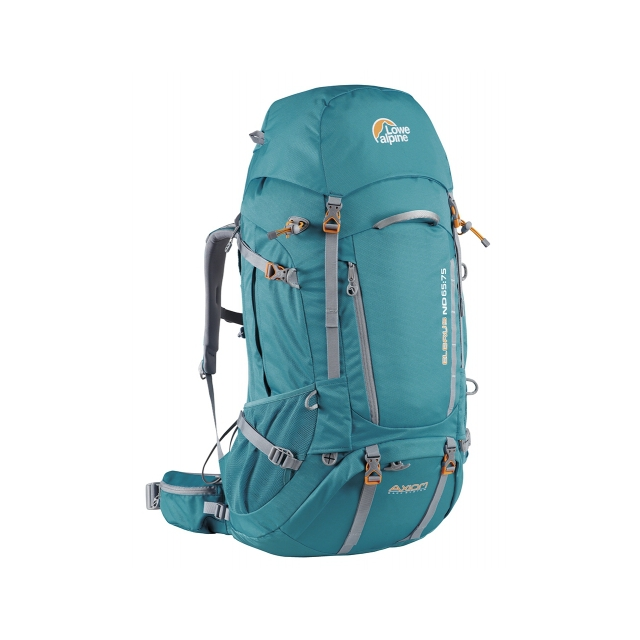 Lowe Alpine - - Elbrus ND 55 Backpack Ws - 55L - Sea Blue/Pumpkin