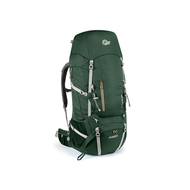 Lowe Alpine - - Atlas 65 Backpack - 65L - Crocodile Green