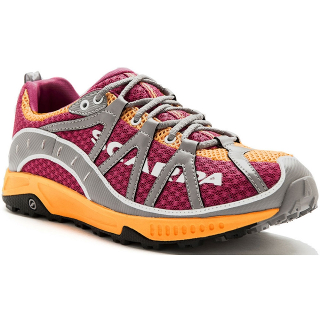 Mammut - Spark Trail Running Shoe Womens - Lip Gloss/Orange 42.5