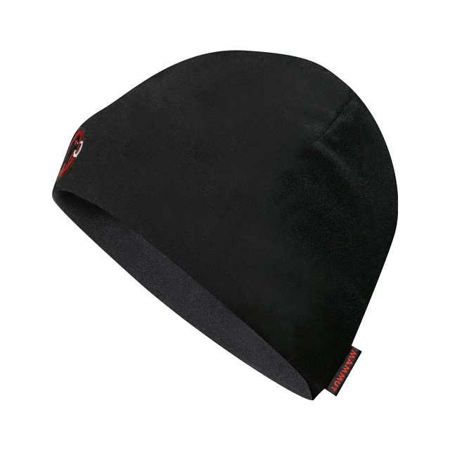 Mammut - Fleece Beanie: Black