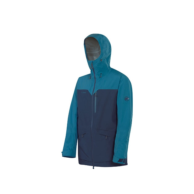 Mammut - Trift GTX 3L Parka - Men's: Dark Space/Whale, Medium