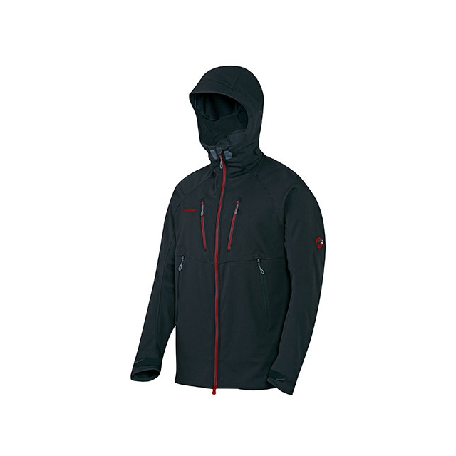 Mammut - Ultimate Alpine Hoody - Men's: Black, Medium