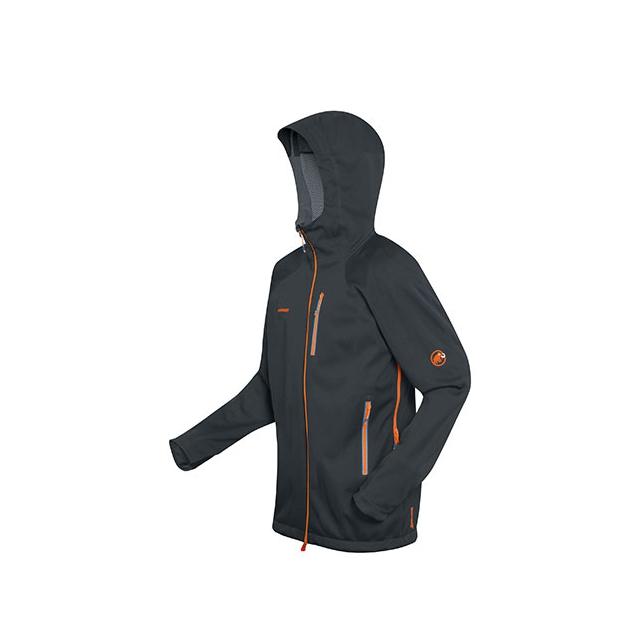 Mammut - Ultimate Nordpfeiler Pullover Jacket - Men's: Black, Medium
