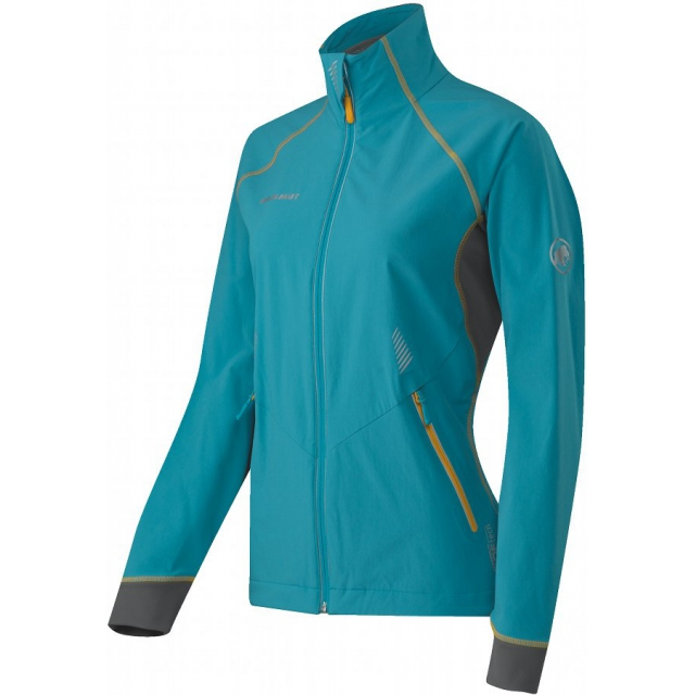 Mammut - - Botnica Jacket Women - X-Small - Ocean / Yolk