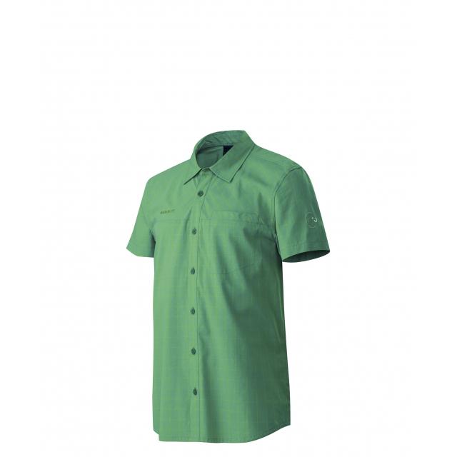 Mammut - - Buckwell Shirt Mens - Small - Cypress / Yellow