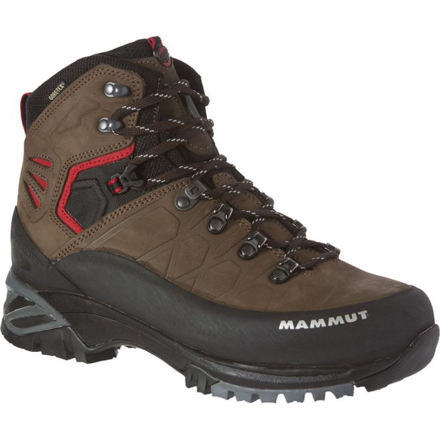 Mammut - - Pacific Crest GTX Mens Boot - 9 - Dark Brown / Fire