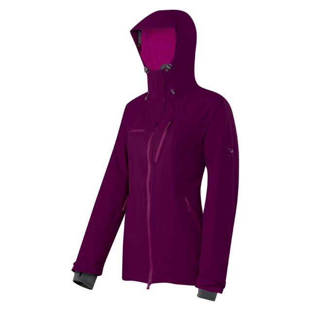 Mammut - - Misaun Jacket W - X-Small - Plum