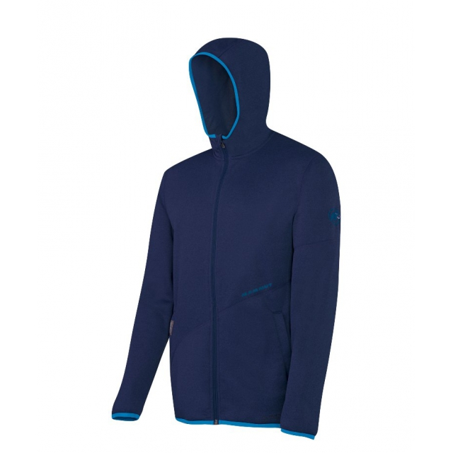 Mammut - - Go-Far Hooded Jkt Men - Small - Space Melange