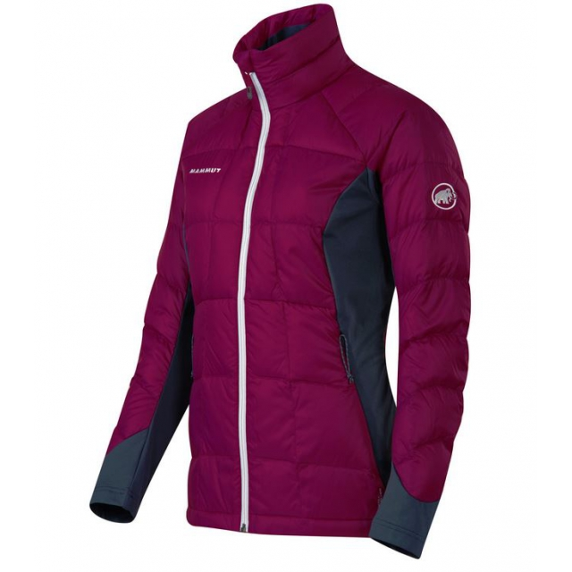 Mammut - - Flexidown Jacket Women - Large - Radiance/Dark Space