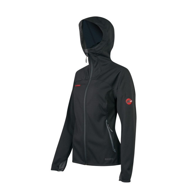 Mammut - - Ultimate Hoody Womens - Medium - Black/Black