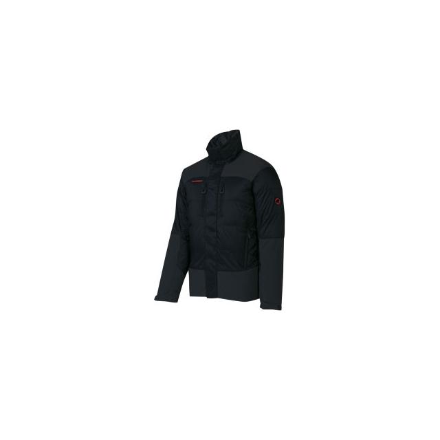 Mammut - Ambler Hooded Jacket - Men's - Graphite/Black In Size