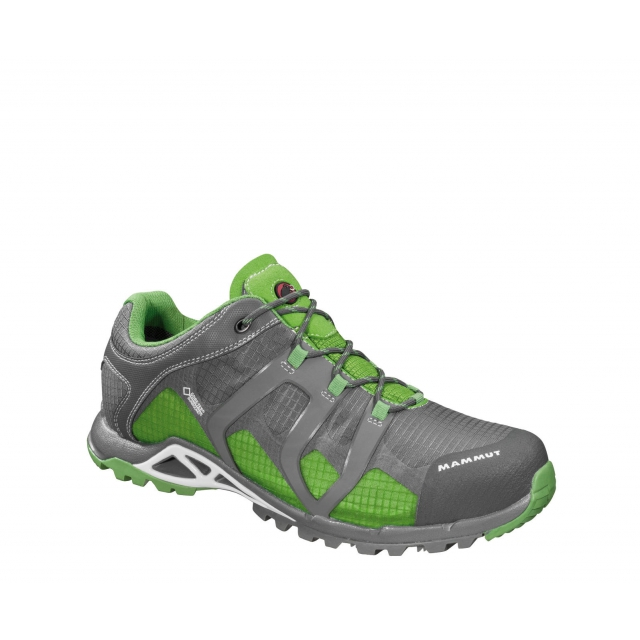 Mammut - - Comfort Low GTX Mens - 8.5 - Grey/Artichoke