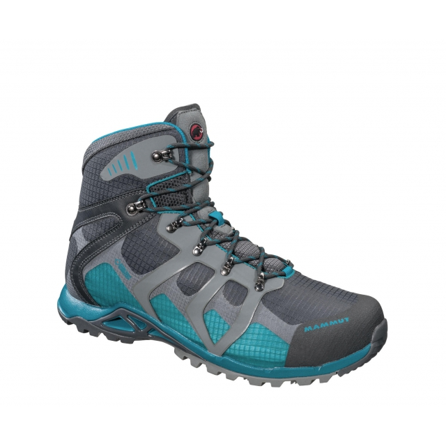 Mammut - - Comfort High GTX Wmns - 10 - Graphite/Pacific