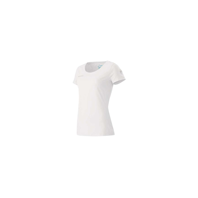 Mammut - Logo T-Shirt - Women's - White/Carribean In Size: Large