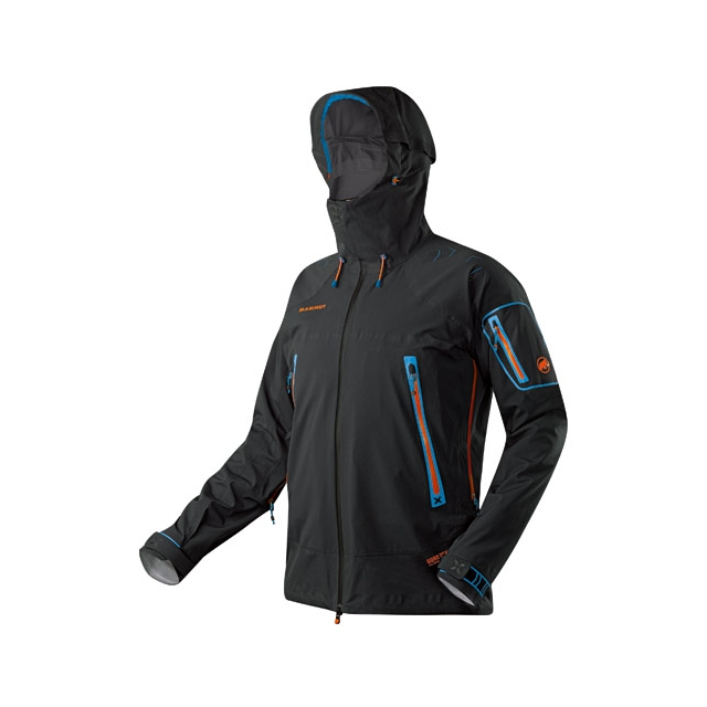 Mammut - Nordwand Pro HS Hooded Jacket - Men's: Black, Medium